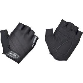 GripGrab Rouleur Gevoerde Halve Vinger Handschoenen, zwart